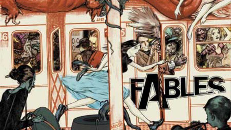 Illustration for article titled After years of others ripping it off, Fables is finally becoming a movie