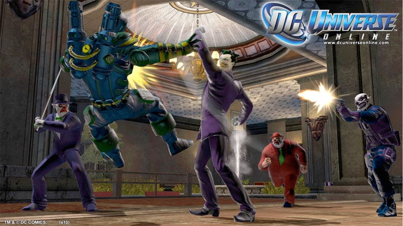 Illustration for article titled DC Universe Online Opens Its Beta Door, Gets Limited Edition