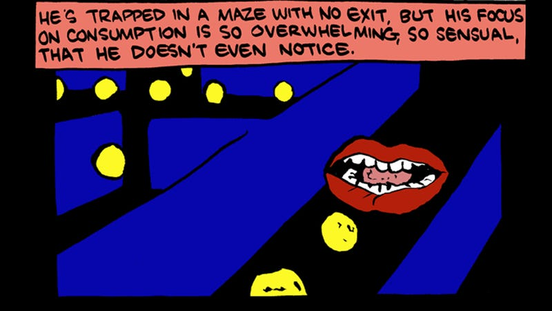 Illustration for article titled I Can Never Look At Pac-Man The Same Way Again