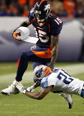 Illustration for article titled Brandon Marshall Isn't Ready To Wipe With His Right Hand Yet