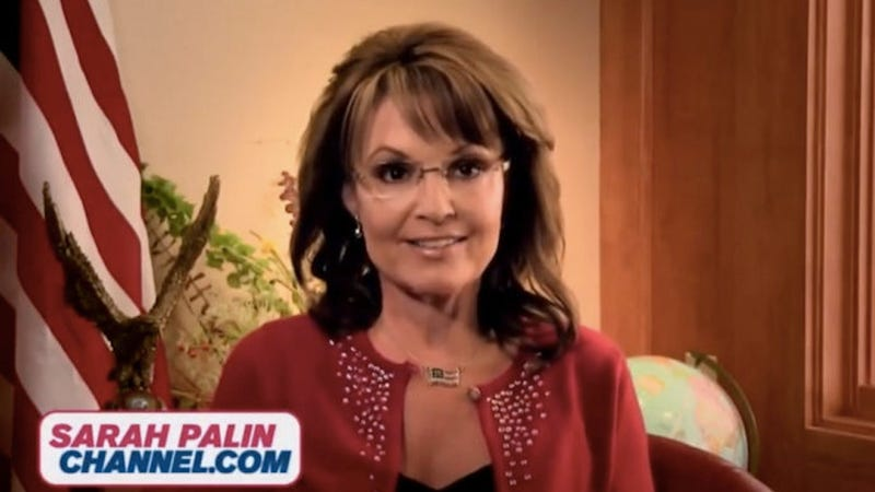Illustration for article titled Palin Interviewee Calls the President 'Hitler' [Update: Never Mind]