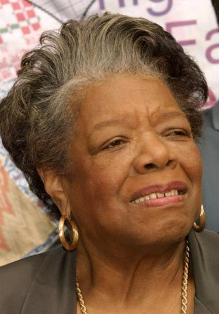 Maya Angelou in 2003Frederick M. Brown/Getty Images