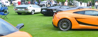 Illustration for article titled Name that Lambo.... Eleven Specimens Grace the Concours Show Field