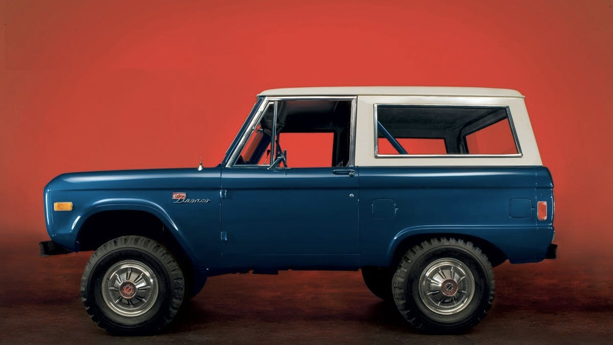 Why Everyones Still Going Nuts Over The New Ford Bronco An Explainer 1969 Ranger