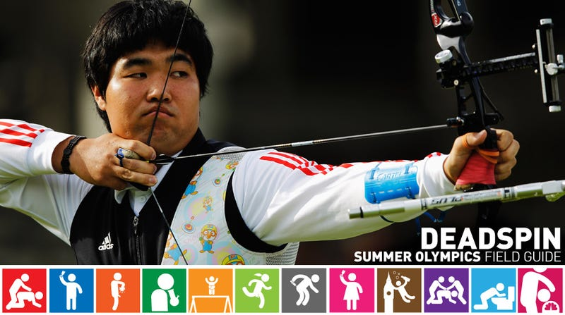 Illustration for article titled Olympics Field Guide: Im Dong-Hyun, The Lethal Blind Archer