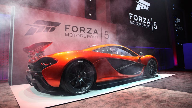 Illustration for article titled Forza 5 Goes Nuts For The McLaren P1