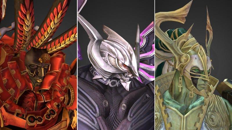 Illustration for article titled Final Fantasy Bosses Make For Great 3D Fanart
