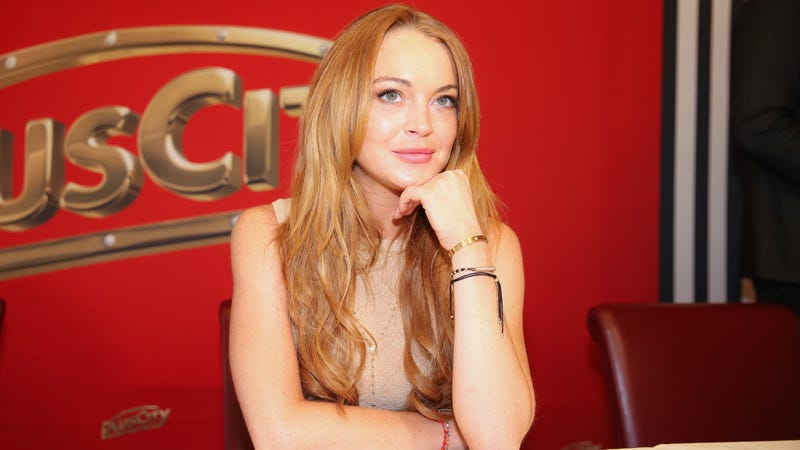 Illustration for article titled Lindsay Lohan, Age 28, Is Writing a Memoir