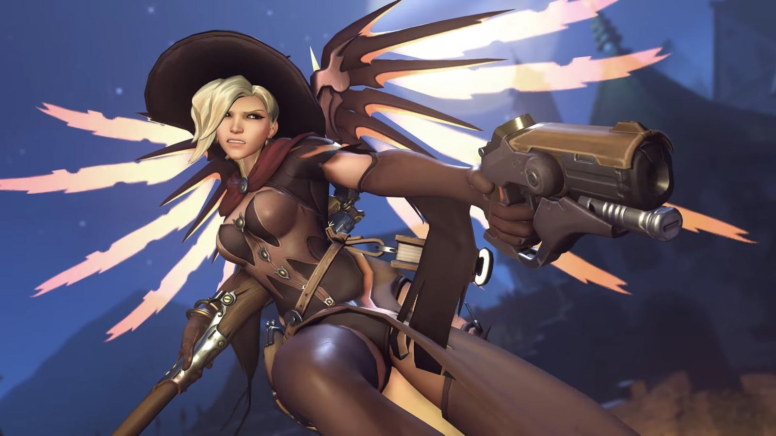 Almost Everyone Is Playing Overwatch With A Mercy On Their Team Now