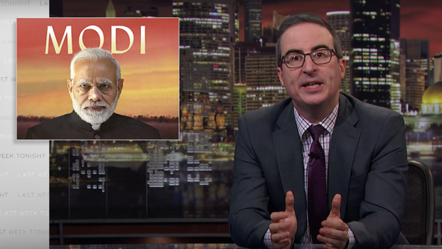Disney Reportedly Censors John Oliver Segment on Its India Streaming Service Over Criticisms of Modi