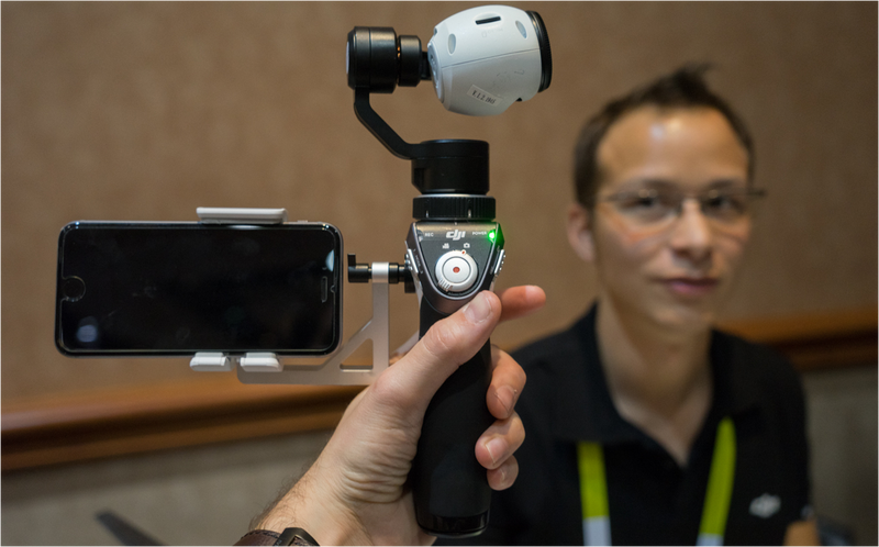 Inspire 1 Mount, primeras impresiones: la cámara de un dron en tu mano