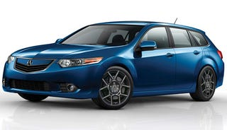 Illustration for article titled How to make the TSX Sport Wagon actually sporty