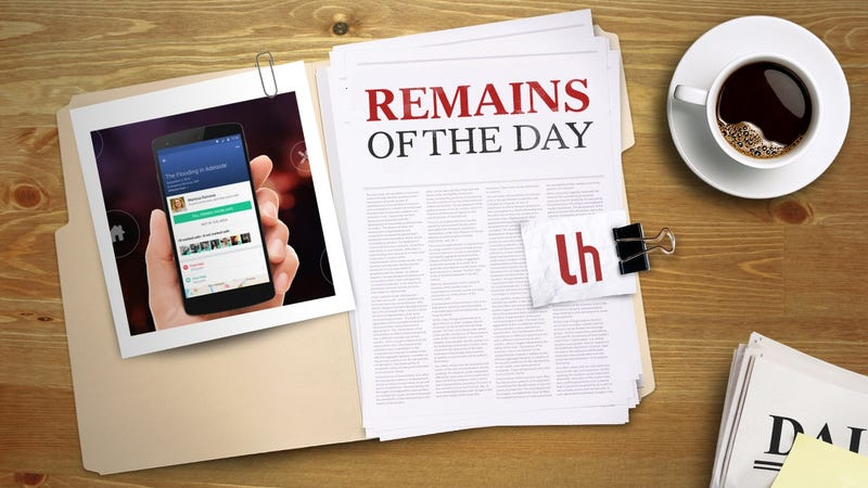 Illustration for article titled Remains of the Day: Facebook Safety Check Can Now Connect Those in Need With Help