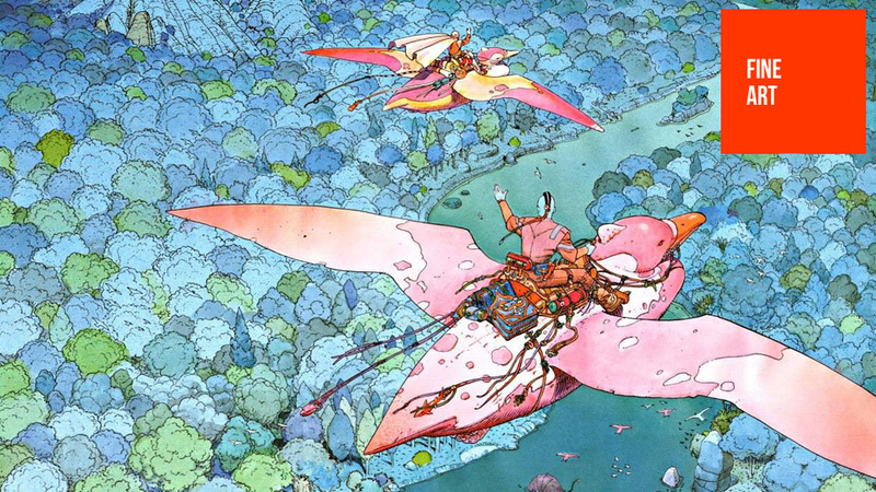 Moebius and the Key of Dreams: On Jean Giraud's Astonishing Multiverse