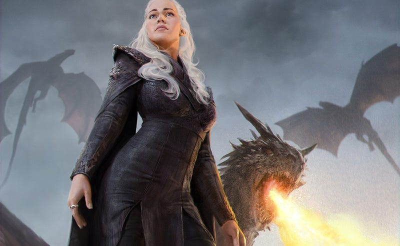 Illustration for article titled The Mother Of Dragons