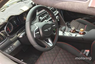 Motoring Just Got Spy Shots Of The Genesis G70 Interior For, From The Looks  Of It, The 3.3t Above And The 2.0t Below. I Knew That Genesis Was Going To  Go ...