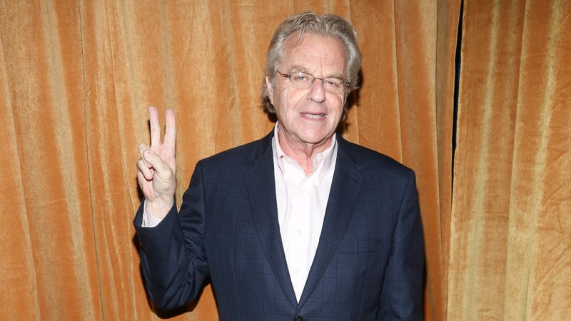 Illustration for article titled Jerry Springer has a new show already