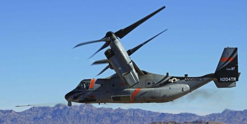 Illustration for article titled The V-22 Osprey Finally Gets Some Proper Talons