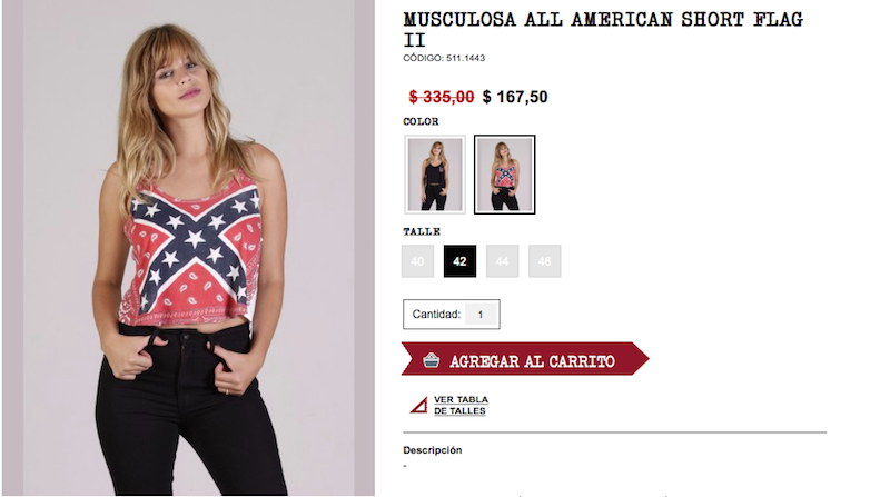 Illustration for article titled Argentina's Coolest Dumb Teens Are Wearing Confederate Flags