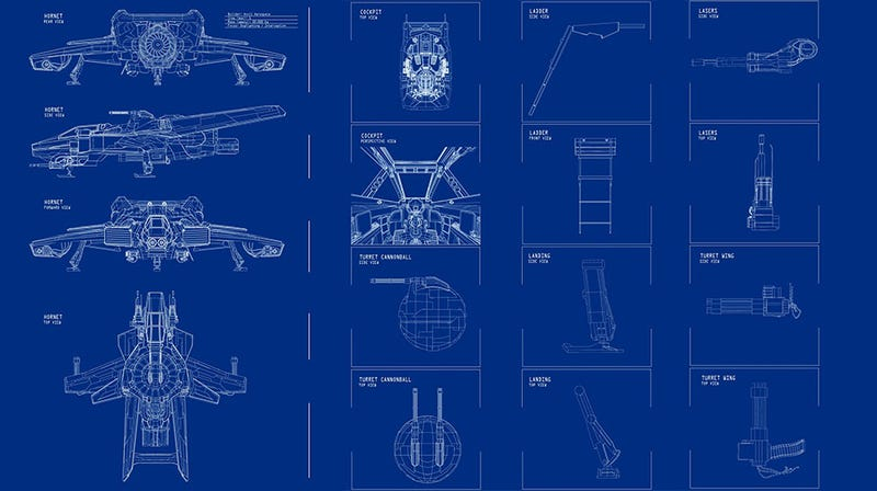 Illustration for article titled Star Citizen's Starfighter Building Options Are Like A 90's Childhood Fantasy Come True