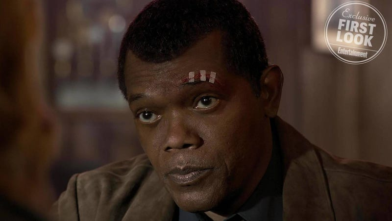 Samuel L. Jackson Shares How Captain Marvel Shapes the Nick Fury We Know and Love