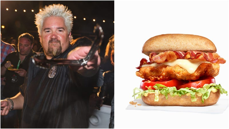 Illustration for article titled Guy Fieri launches enthusiastic chicken chain Chicken Guy!