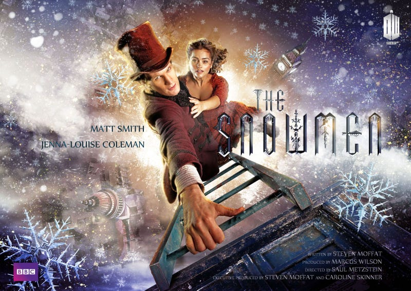 """Illustration for article titled Doctor Who - """"The Snowmen"""" Promo Images"""