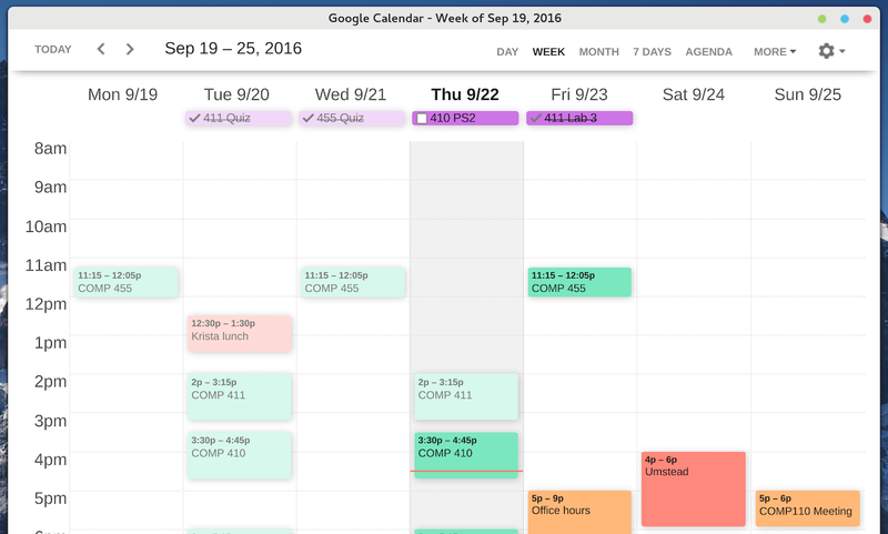 Illustration for article titled Clean Google Calendar is the Beautiful GCal You Always Wanted