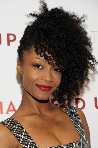 Yaya DaCosta attends the Fed Uppremiere at the Museum of Modern Art May 6, 2014, in New York City.Rommel Demano/Getty Images