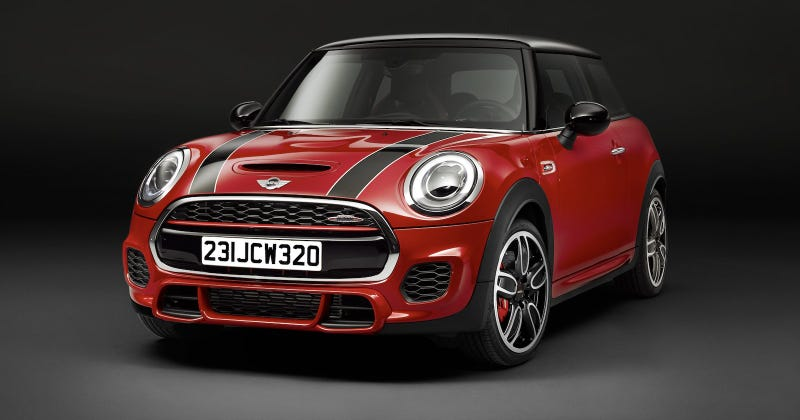 Illustration for article titled 2015 Mini John Cooper Works: This Is It