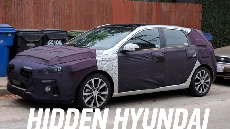 Illustration for article titled Is This The Next-Gen Hyundai Elantra GT?