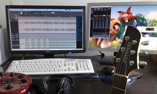 Cool Set Up An Inexpensive Beginner Home Recording Studio Largest Home Design Picture Inspirations Pitcheantrous