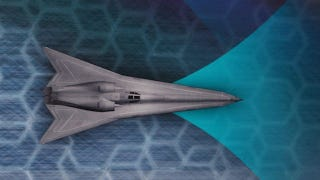 Illustration for article titled Next-Generation High-Speed Bomber Looks Unlike Anything You've Seen Before