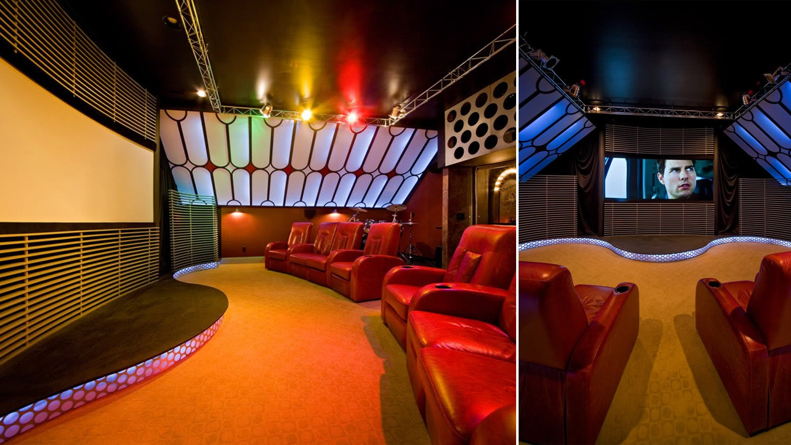 & 16 Obscenely Over the Top Home Theaters