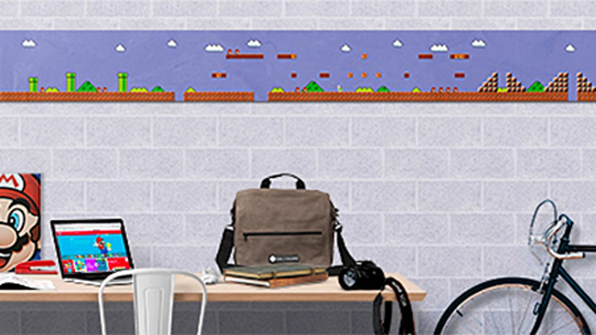 Power-up Your Walls With This Super Mario Bros  Level 1-1
