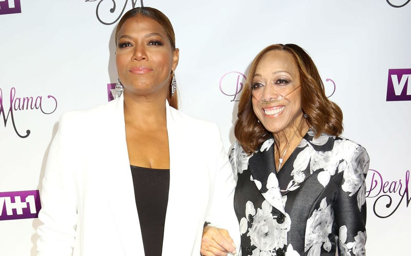 "Queen Latifah and her mother, Rita Owens, attend taping of VH1's ""Dear Mama"" Mother's Day special at St. Bartholomew's Church in New York City on May 3, 2016."