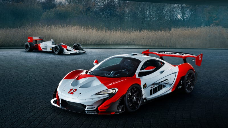 Illustration for article titled The McLaren P1 GTR 'Beco' Is Even Faster And More Powerful Than The Original P1 GTR
