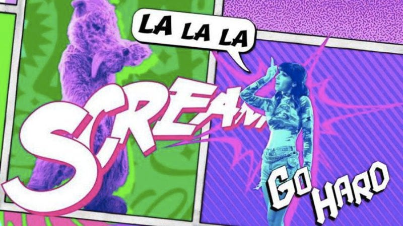 """Illustration for article titled Today in music videos: Kreayshawn goes """"hard"""" with dancing animals and Seussian lyrics"""