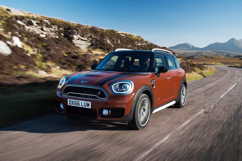 The 2017 Mini Countryman Is Beefy As Hell Now To Annihilate Nature