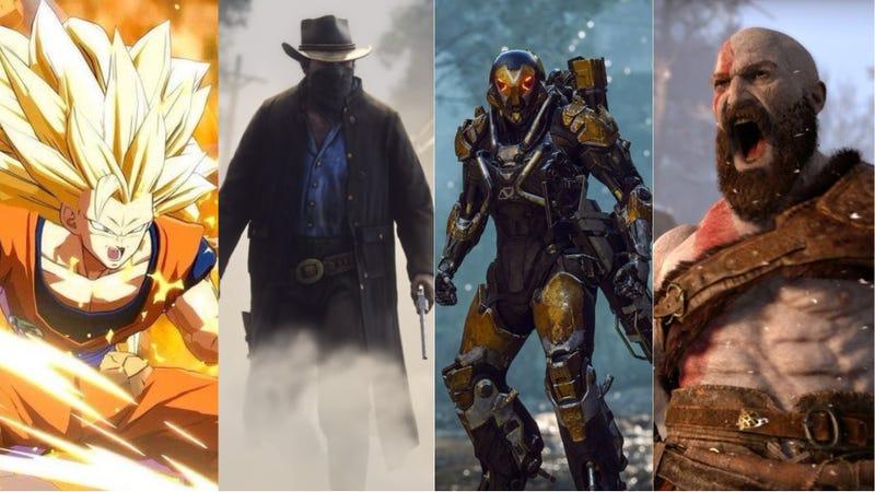 Illustration for article titled Los 15 videojuegos que más esperamos en 2018