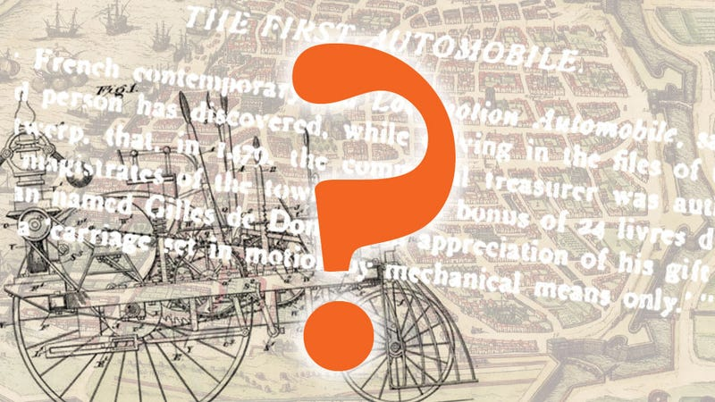 Illustration for article titled This Is The Biggest Mystery In The History Of Early Motoring