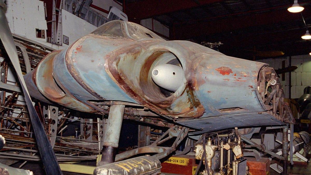 Resultado de imagen de No es una nave de Star Wars, es el avión futurista que diseñaron los nazis para ganar la guerra