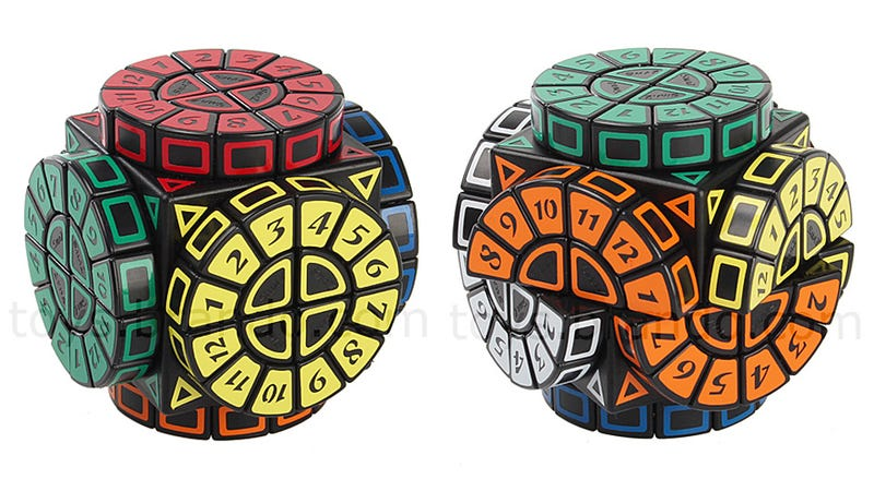 Illustration for article titled Adding Spinning Dials To a Rubik's Cube Is Downright Evil