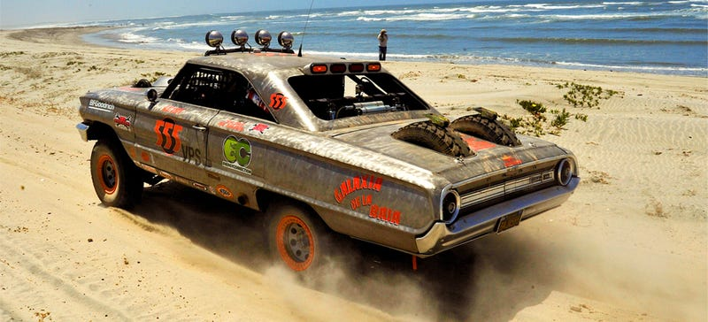 Illustration for article titled This Is The Filthy Baja-Racing FordGalaxie That Mom Warned You About