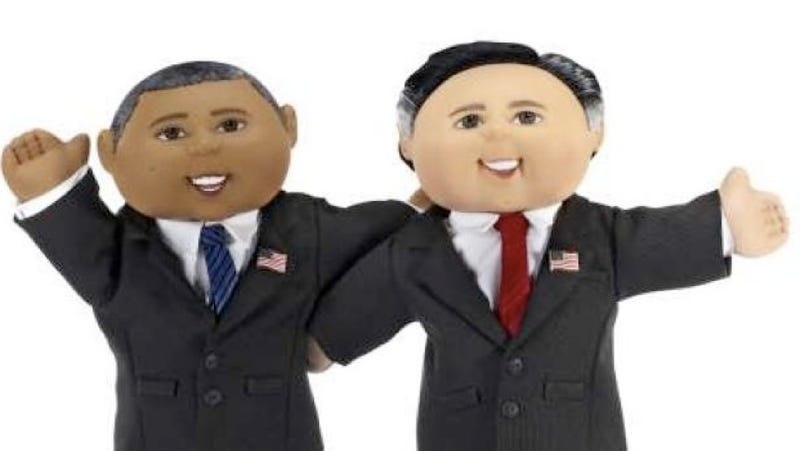 Illustration for article titled Cabbage Patch Election Dolls Are Sort of Creepy