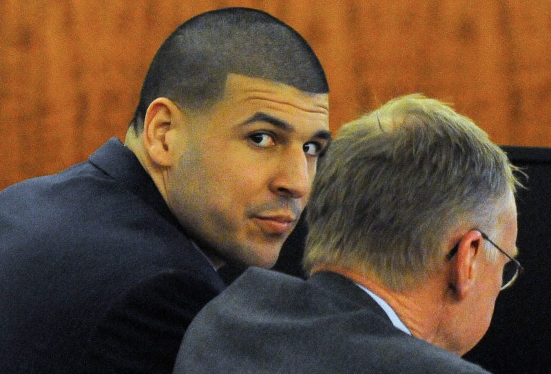 Illustration for article titled Aaron Hernandez Found Guilty Of Murder