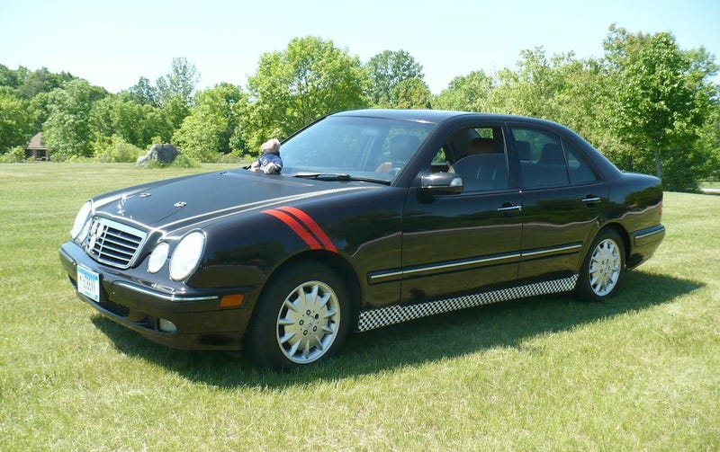At $3,200, Would You Put Your Designs On This 2000 Mercedes E320