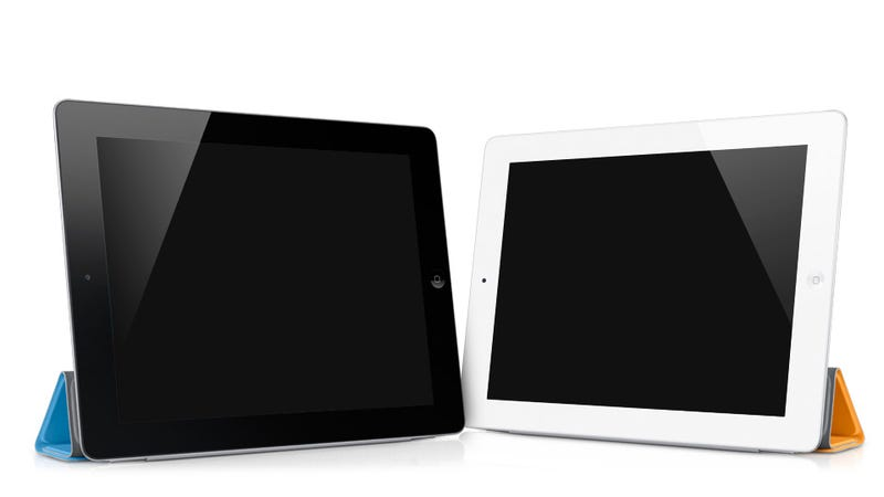 Illustration for article titled iPad 2 Will Be Available In White and Black From Day One