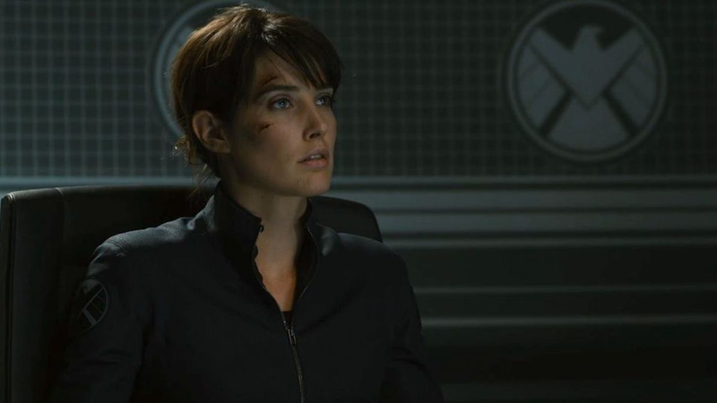 Cobie Smulders as Agent Maria Hill.