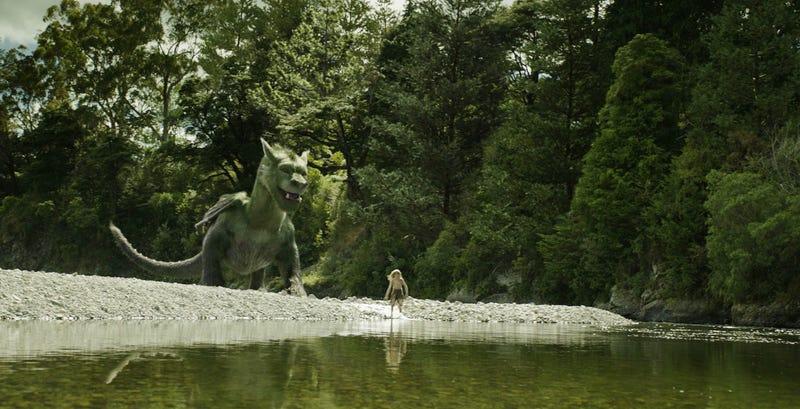 Pete's Dragon has been revealed. Image: Disney
